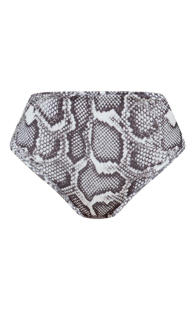 Snake Mix & Match High Waisted Bikini Bottom 3