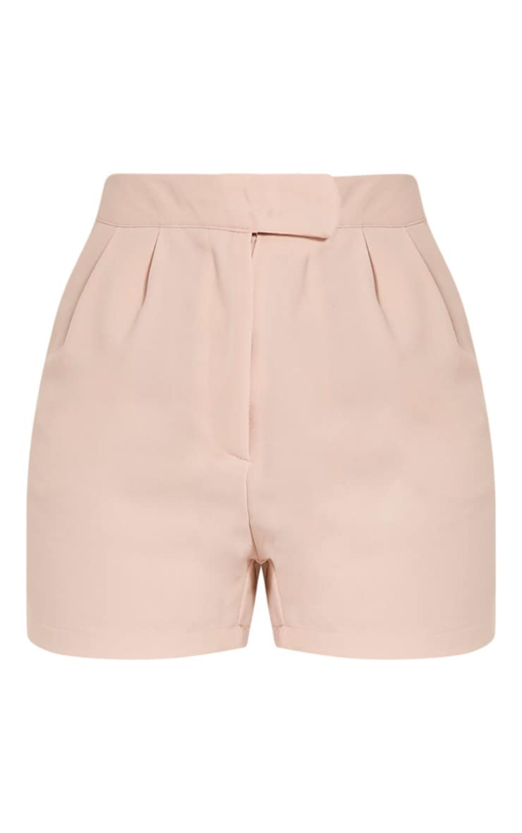 Viona Blush Tailored Shorts 3
