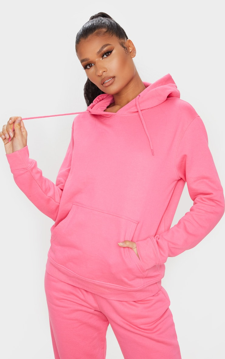 Candy Pink Ultimate Oversized Hoodie 1