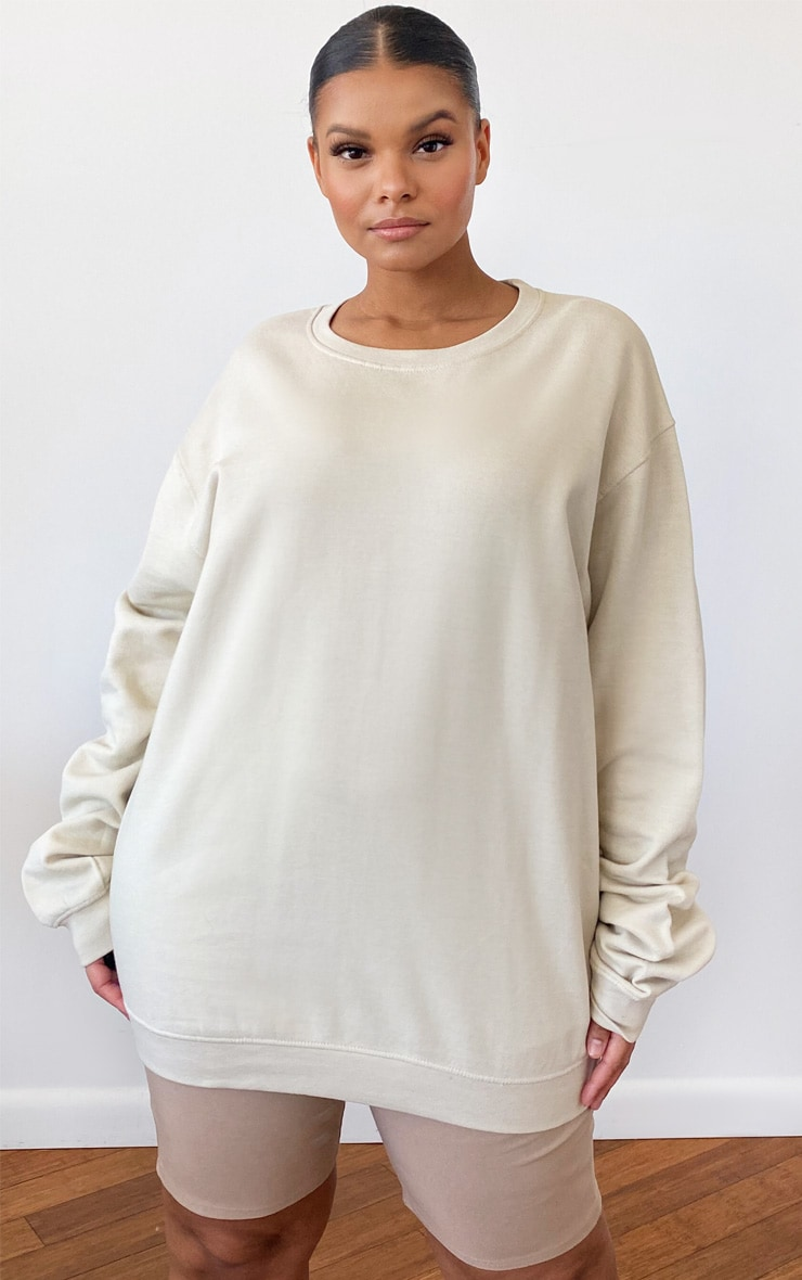 Plus Sand Ultimate Oversized Sweater 1