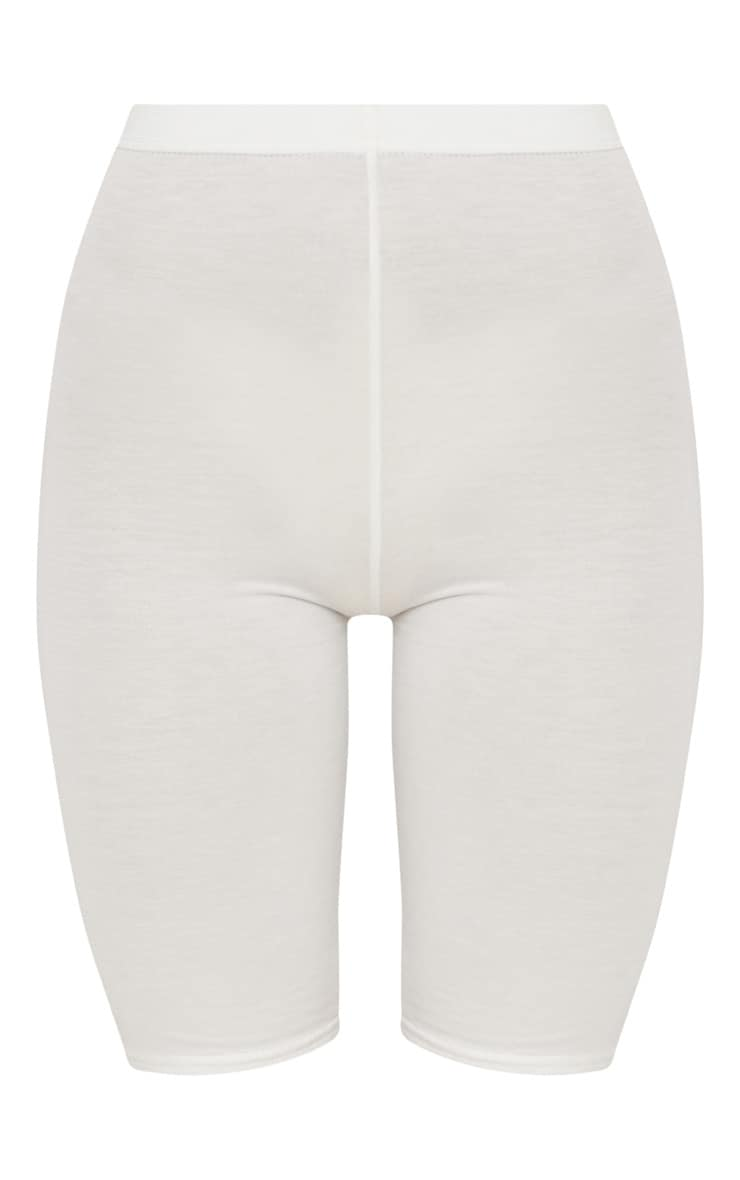 Cream Basic Cycle Short 3