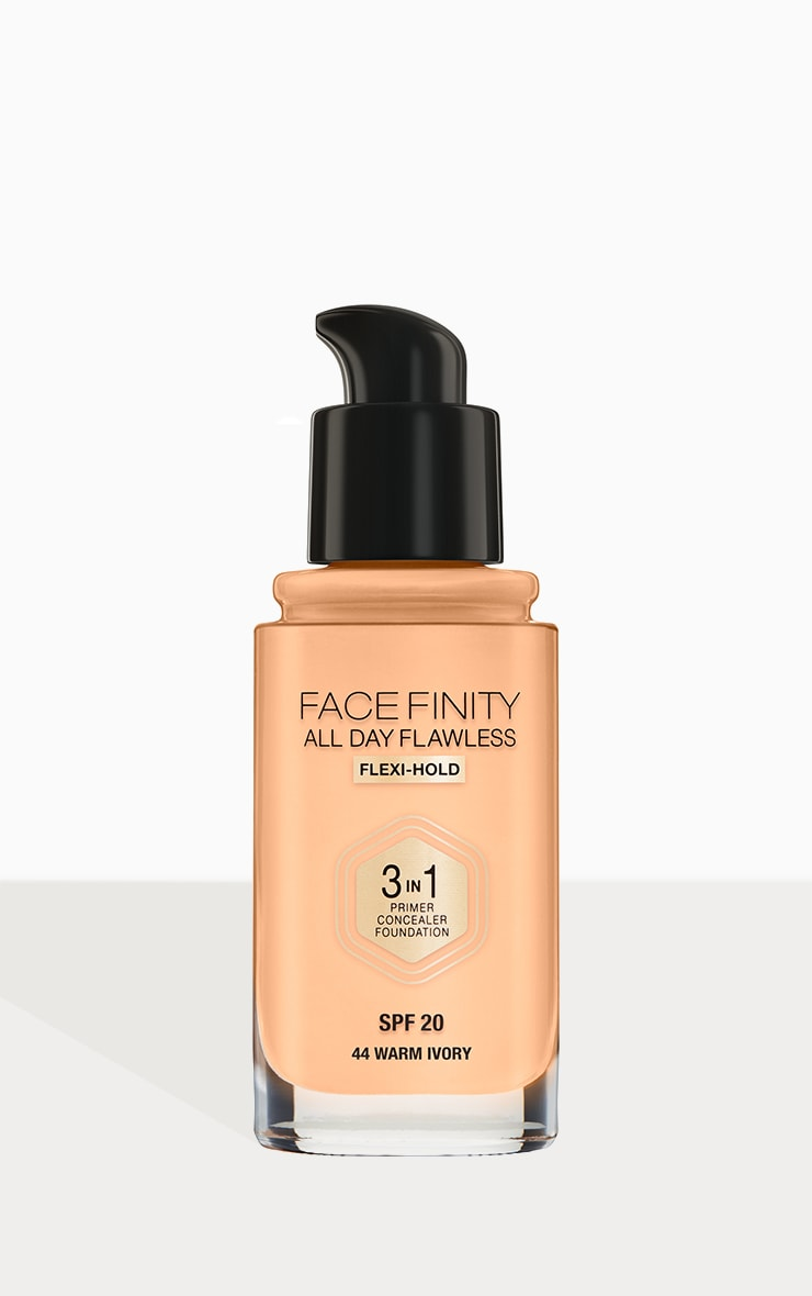 Max Factor Facefinity All Day Flawless Foundation Warm Ivory 3