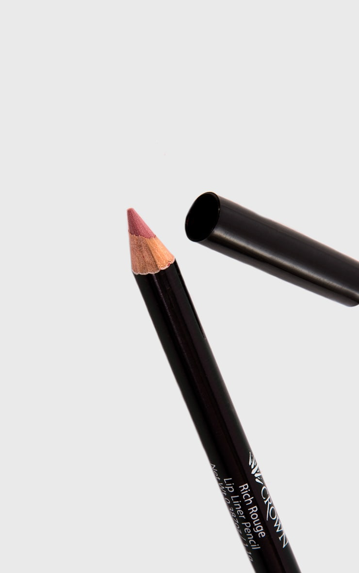Crown Rich Rouge Lip Pencil 1