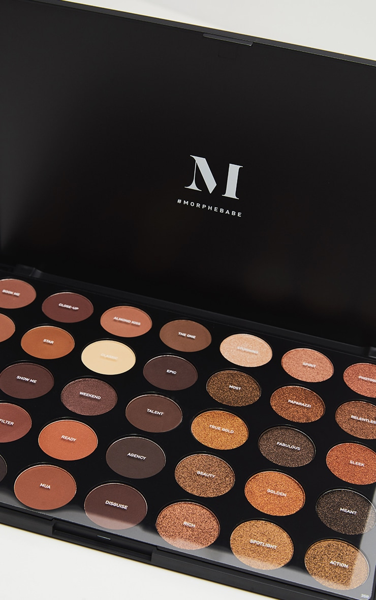 Morphe 35R Ready Set Gold Eyeshadow Palette 2