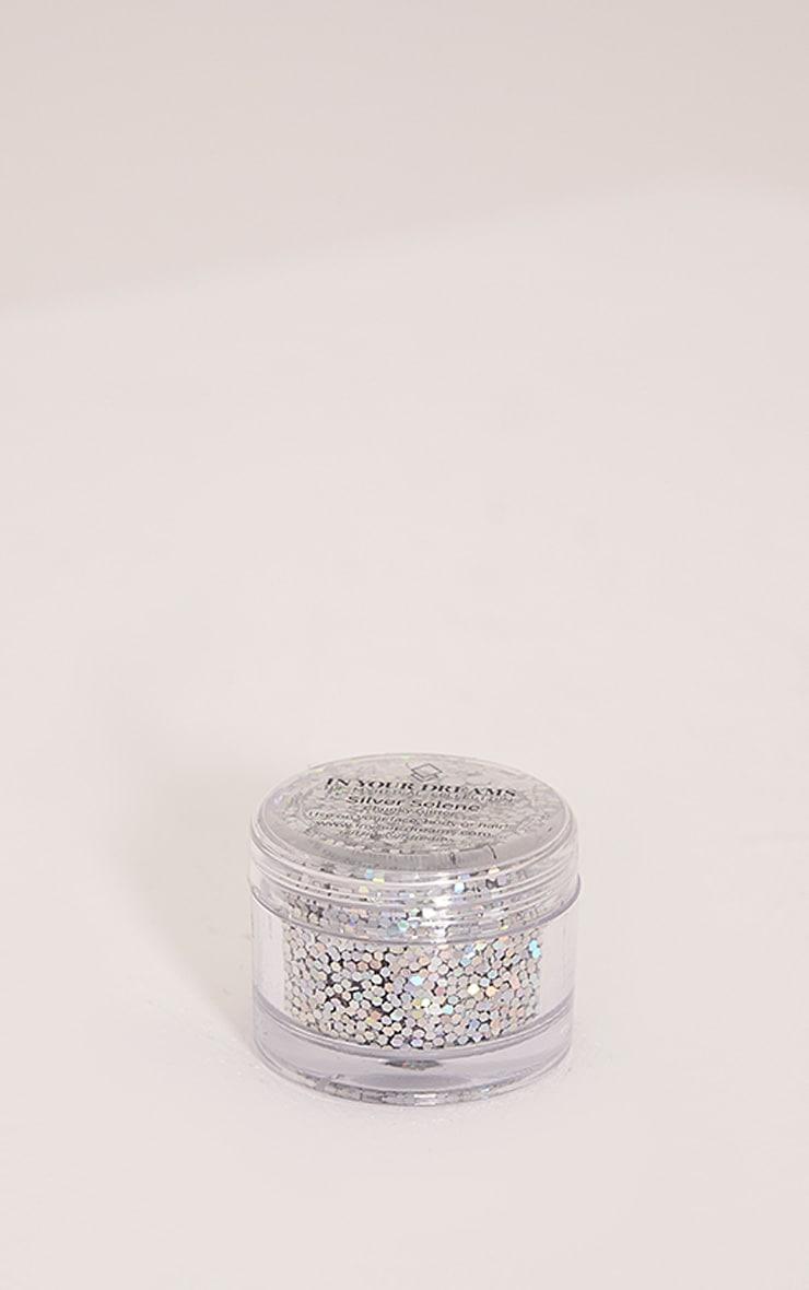 In Your Dreams Silver Selene Glitter Pot 1