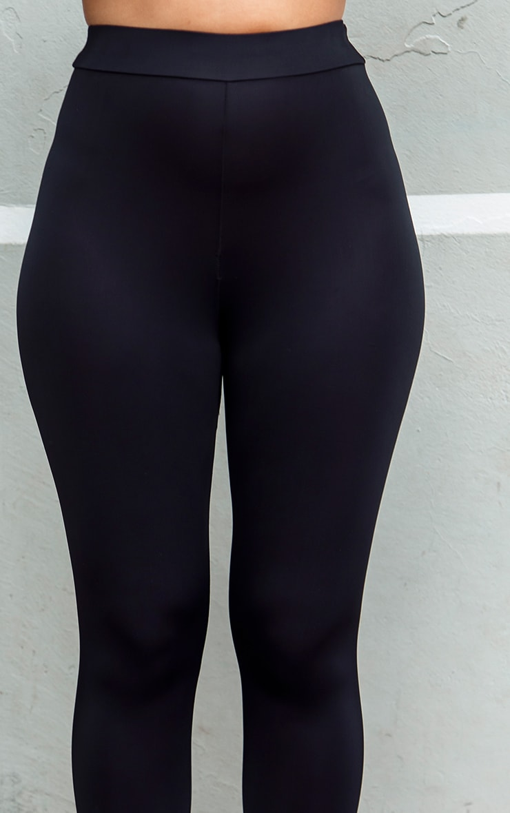 Black Basic Gym Legging 5
