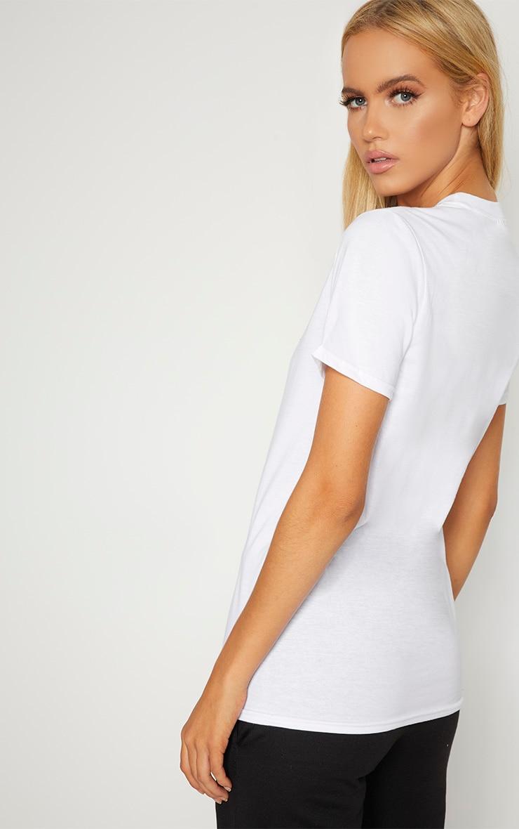 American Slogan White T Shirt 2