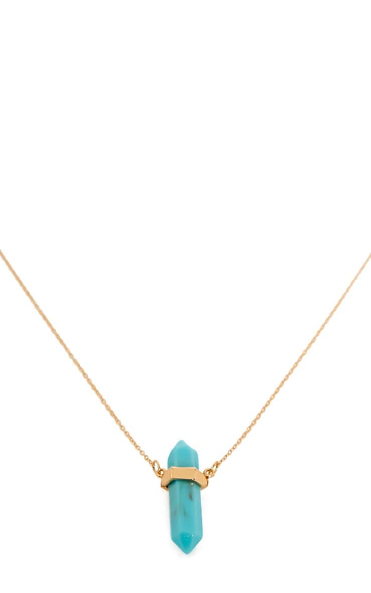 Zanda Aqua Stone Necklace 3