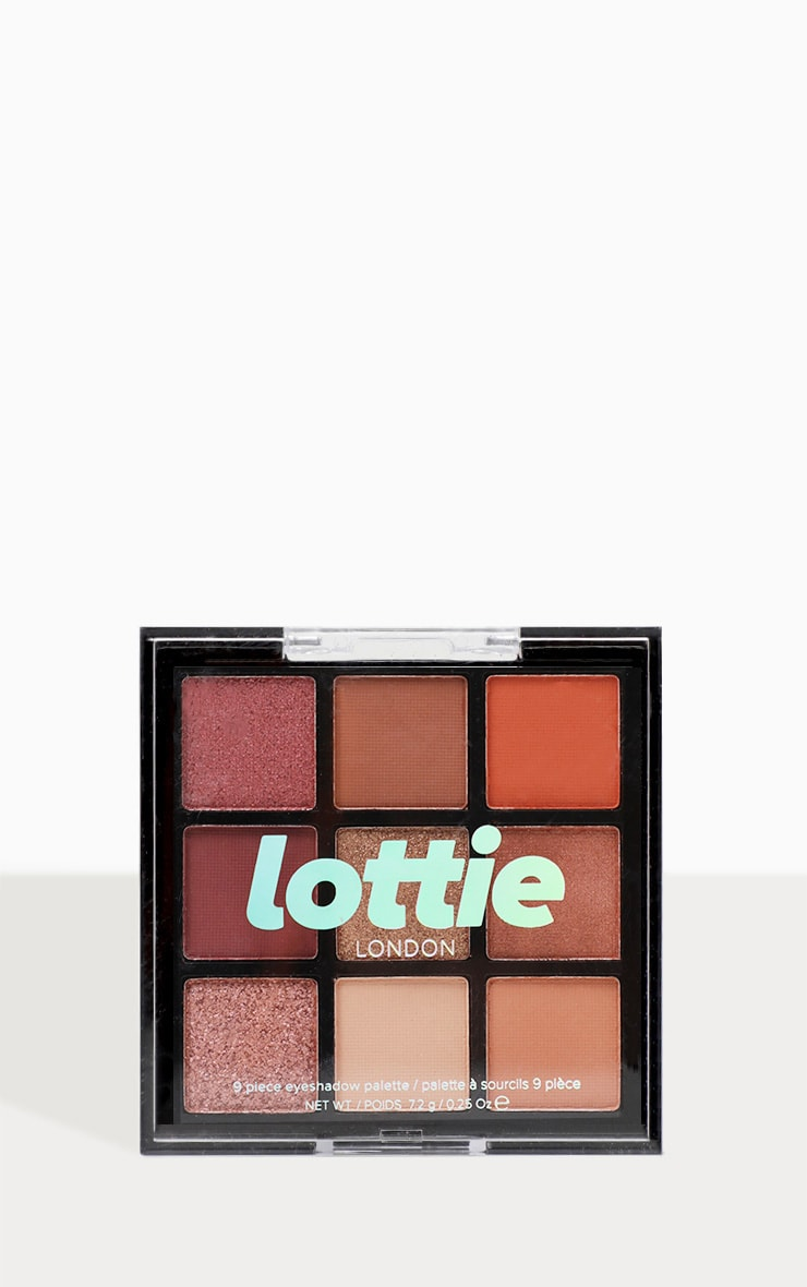 Lottie London Eyeshadow Palette The Rusts 1