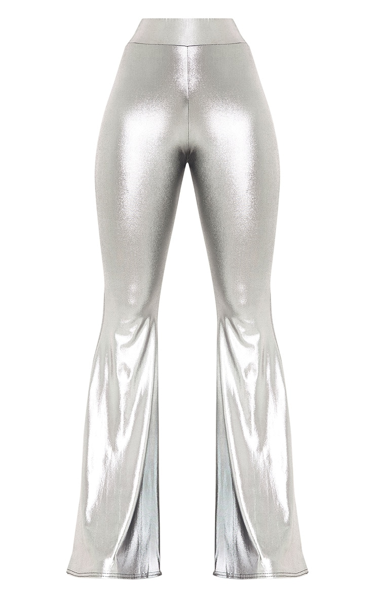 Mylene Silver Extreme Flare Trousers 4