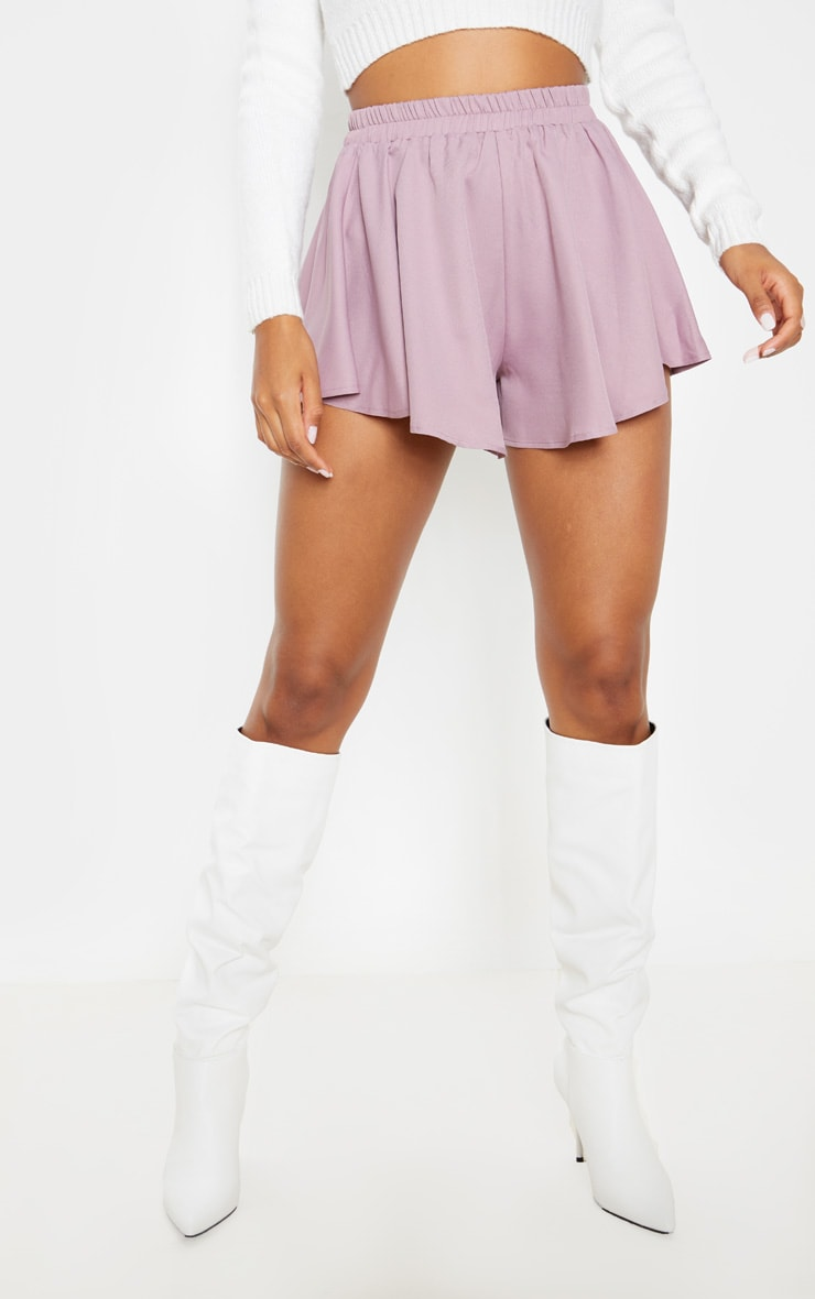 Dusty Lilac Floaty Shorts 2