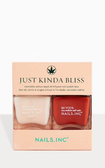 Nails Inc Just Kinda Bliss Nail Polish Duo