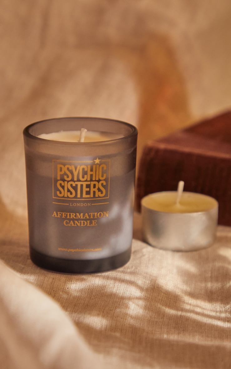 Psychic Sisters Protection Mini Candle 4