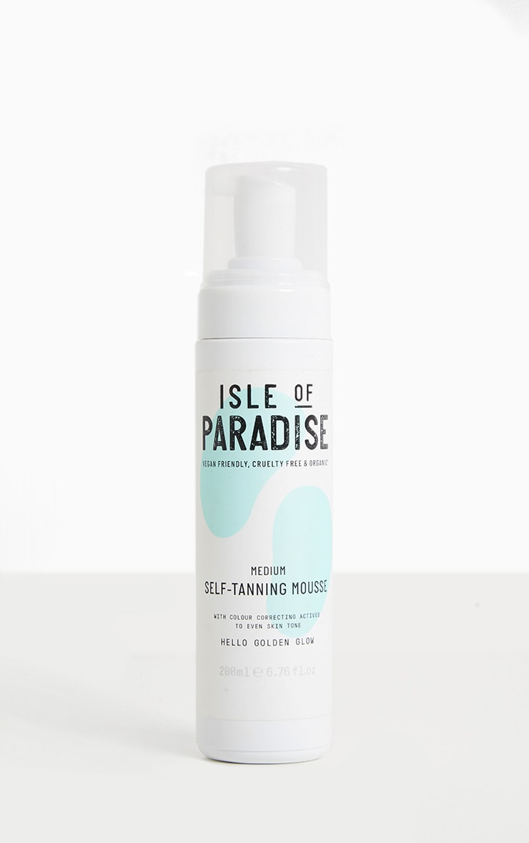 Isle of Paradise Medium Self Tanning Mousse 1