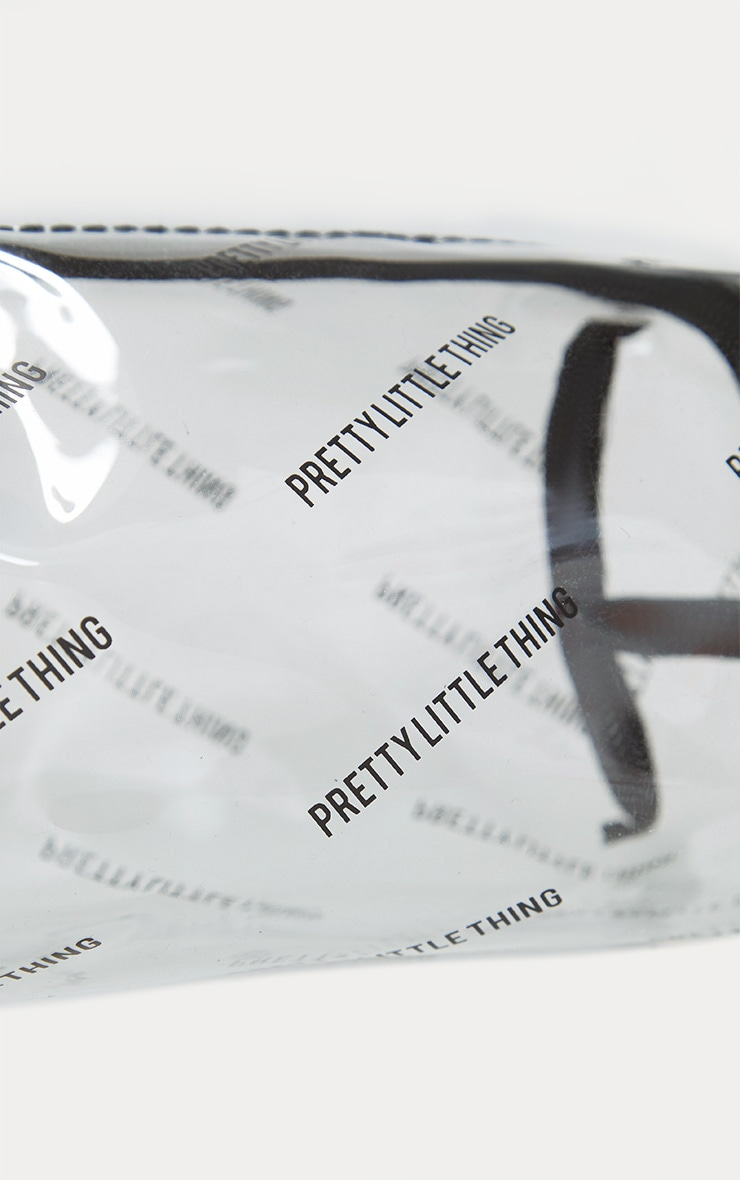 PRETTYLITTLETHING Transparent Cosmetic Bag 3