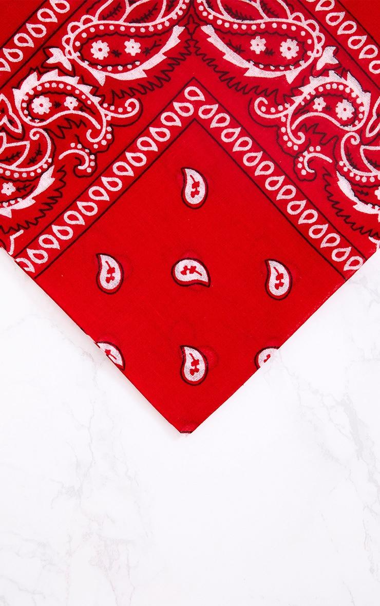 Red Bandana 3
