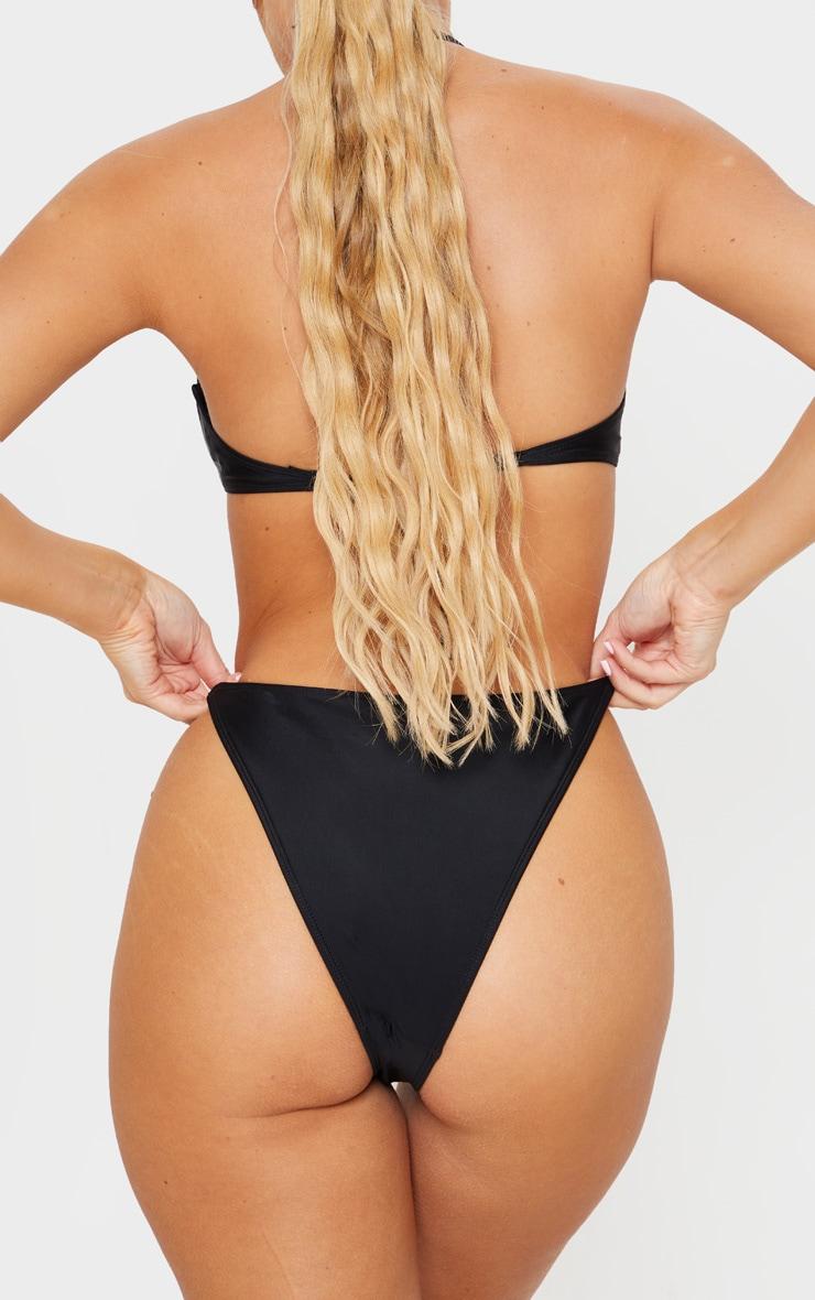 Black Tanga Bikini Bottoms 3