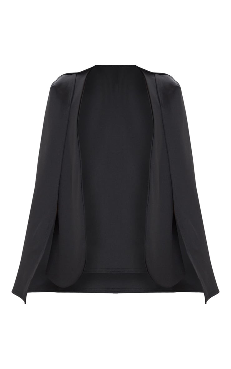 Black Cape Blazer 1