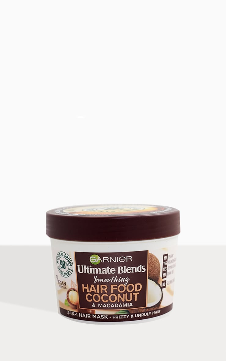 Garnier Ultimate Blends Hair Food Coconut Oil 3-in-1 Frizzy Hair Mask 2