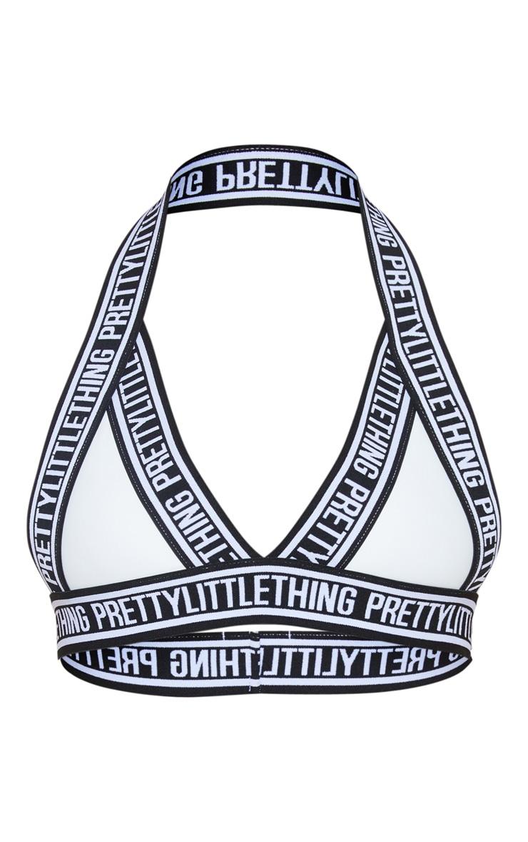 White PRETTYLITTLETHING Strap Bikini Top 6