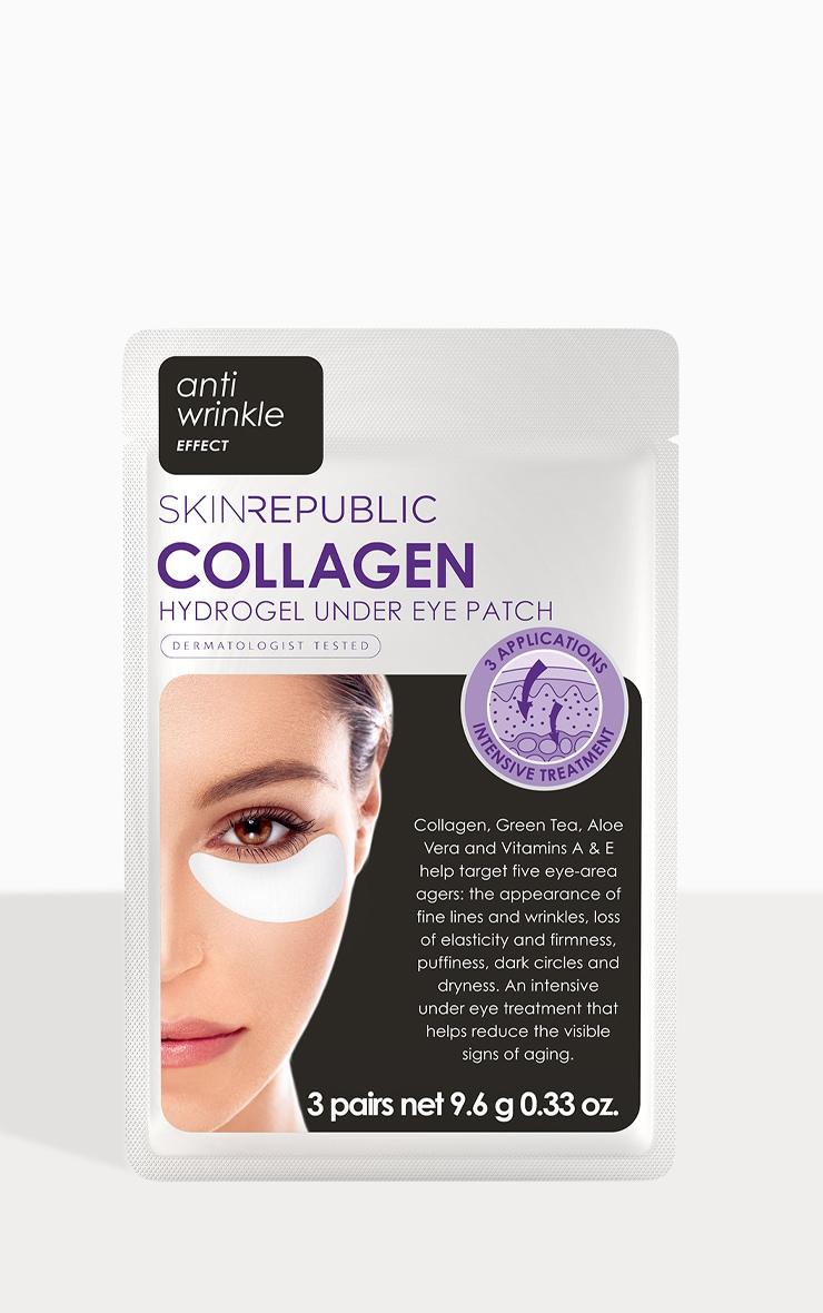 Skin Republic Collagen Hydrogel Under Eye Patch (3 Pairs) 1