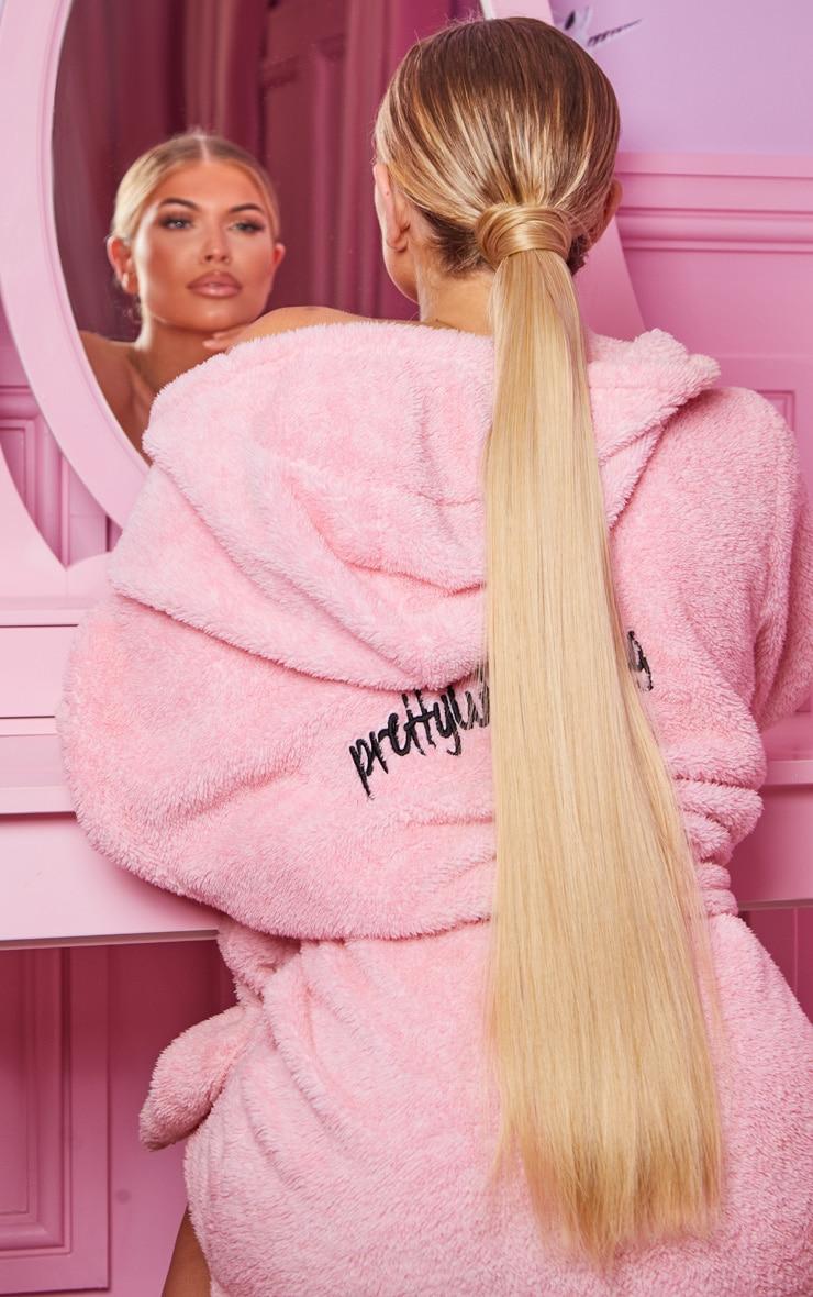 LullaBellz Grande Lengths 26 Straight Wraparound Pony Golden Blonde 2