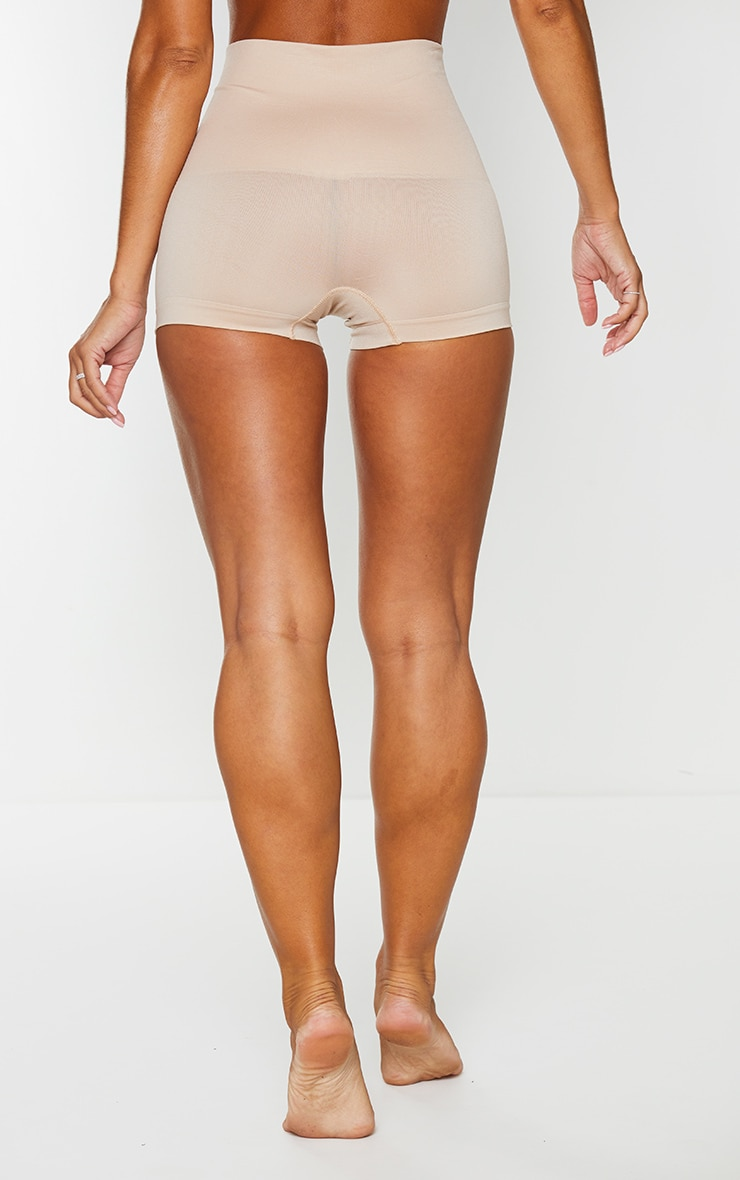 Nude High Waisted Shapewear Shorts 3