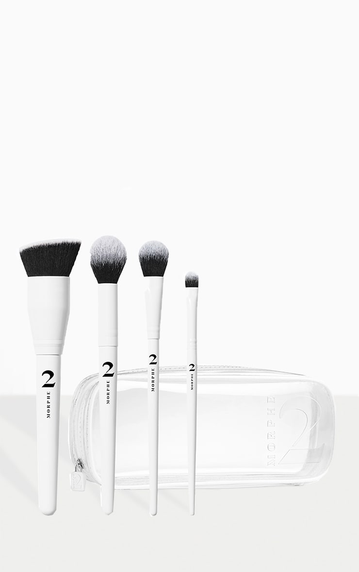 Morphe 2 The Sweep Life 4-Piece Brush Collection + Bag 1