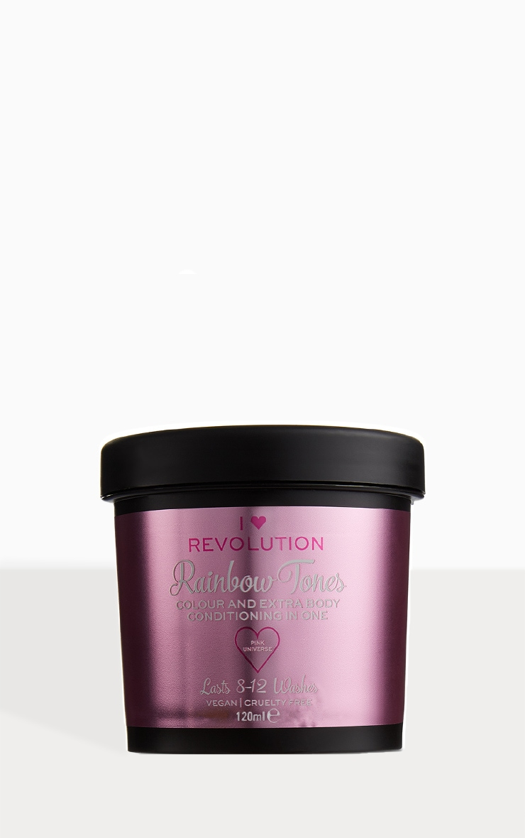 I Heart Revolution Rainbow Tones Hair Colour Pink Universe 1