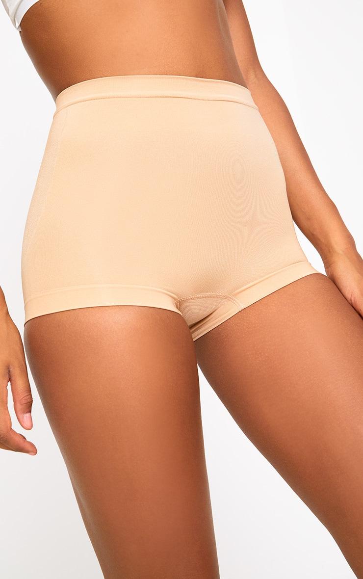 Panty de maintien ventre plat chair 6