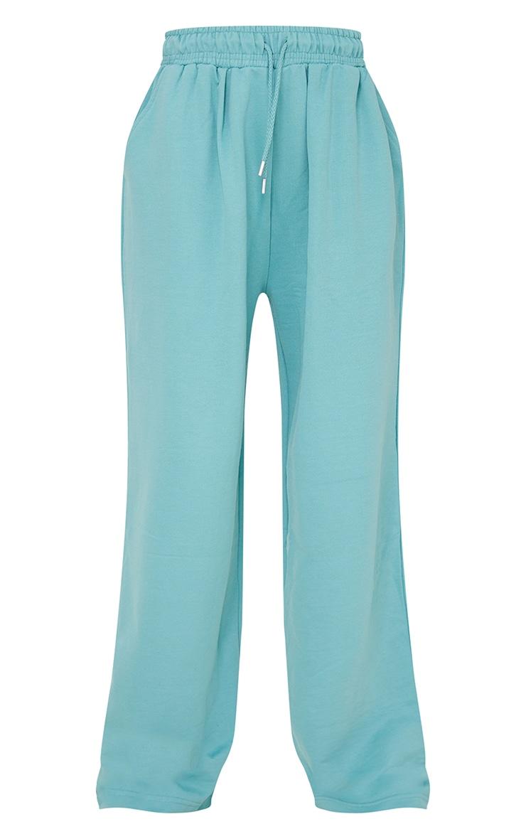 Mint Drawstring Slouch Wide Leg Pants 5