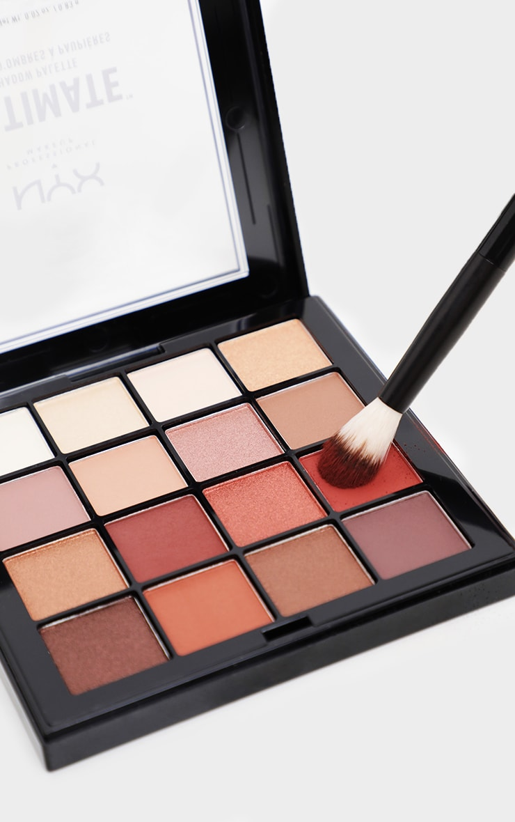 NYX PMU Ultimate Shadow Palette Warm Neutrals 2