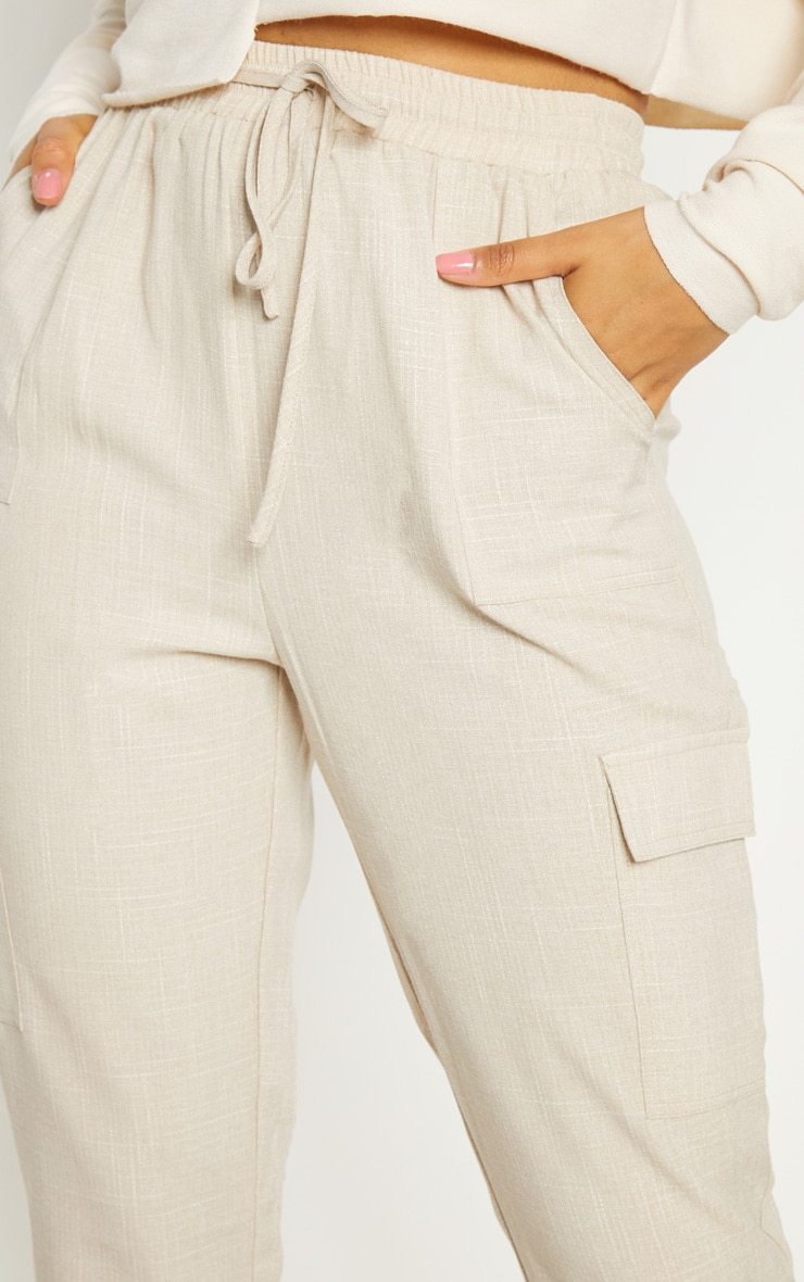 Stone Diya Check Cargo Pocket Casual Trouser 5