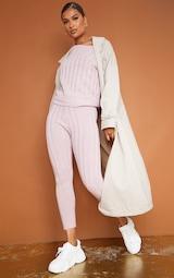Rose Bardot Sweater And Legging Lounge Set 3