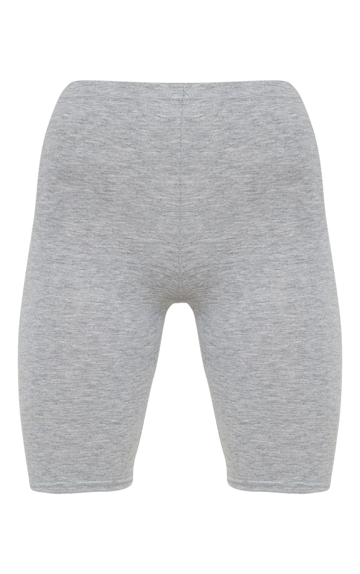 Grey Marl Basic Cycle Shorts 3