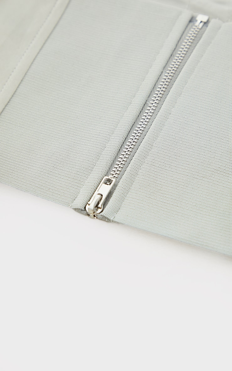 Stone Collar Detail Corset Belt 3
