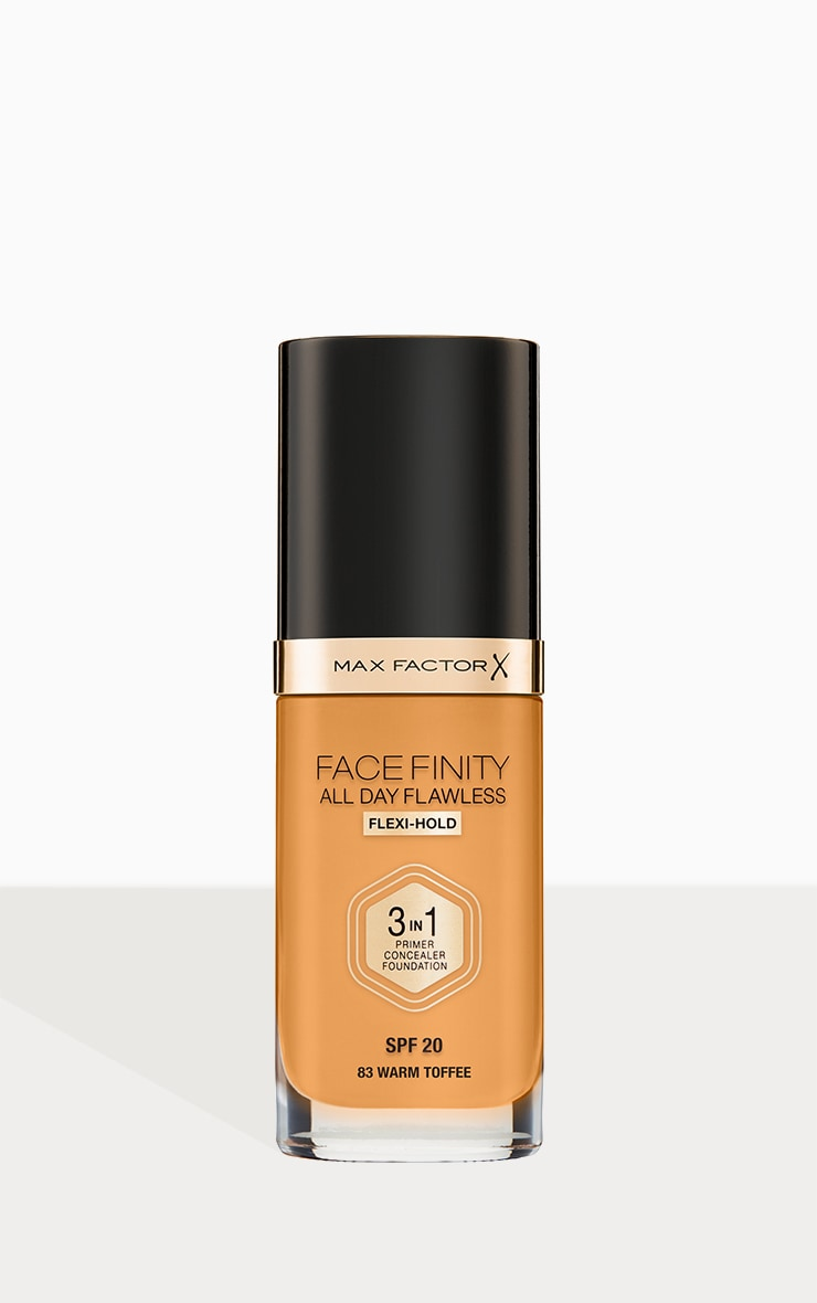 Max Factor Facefinity All Day Flawless Foundation Warm Toffee 1