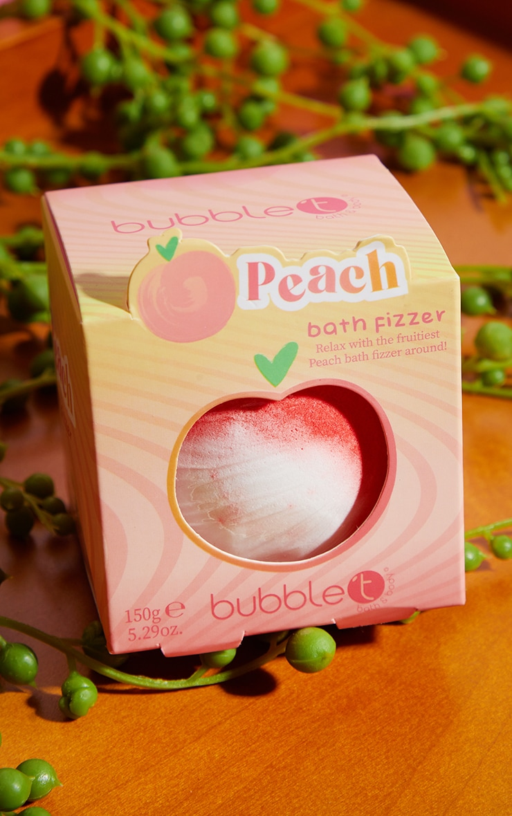 Bubble T Tastea Bath Fizzer Peach 1