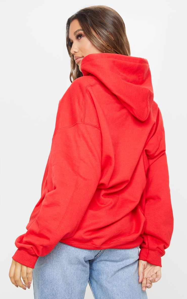 Red Ultimate Oversized Hoodie 2