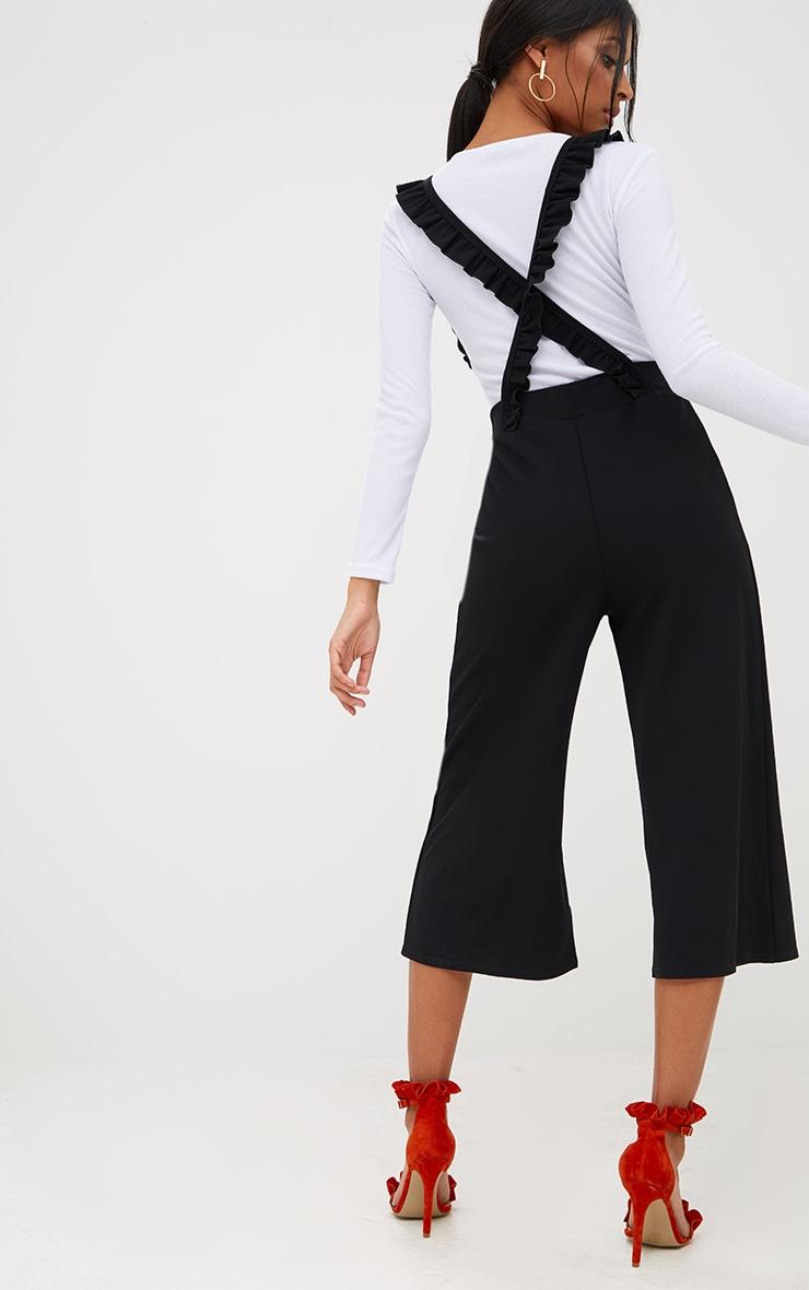 Black Frilly Brace Culottes 2