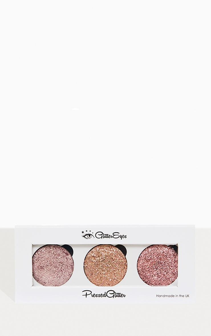 GlitterEyes Rose Gold Trio Palette  1
