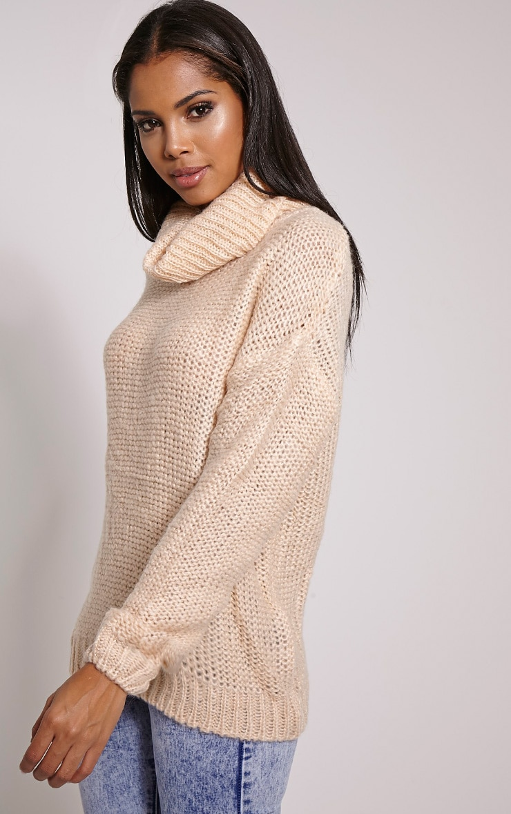Lucia Rose Oversized Knitted Jumper 1