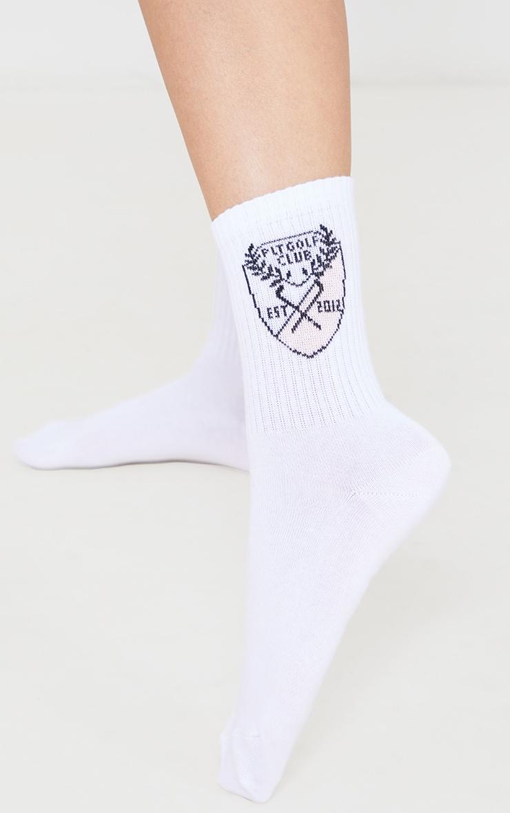 PRETTYLITTLETHING Golf Club Ankle Socks 1