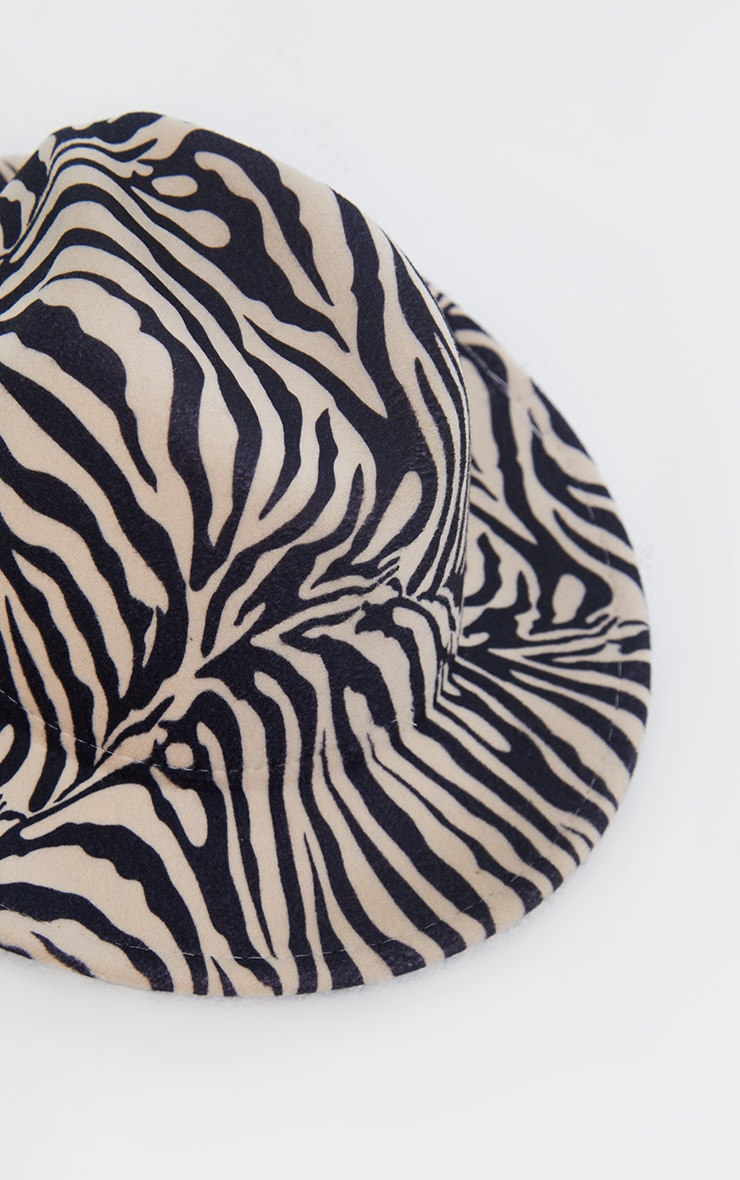 Nude Zebra Fedora 3