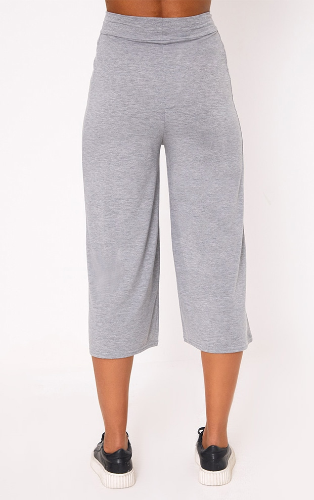 Grey Basic Culottes 4