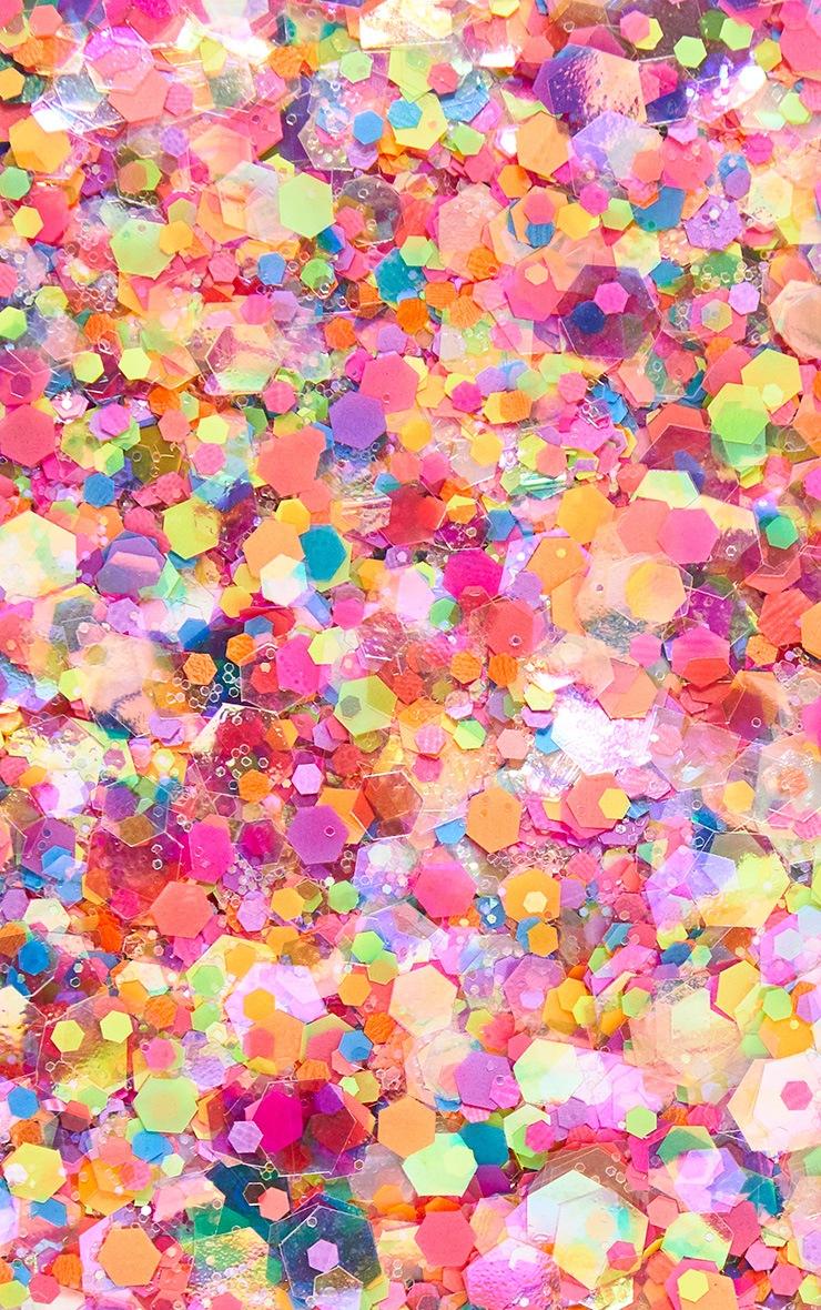 Festival Face Neon Lights Glitter  2