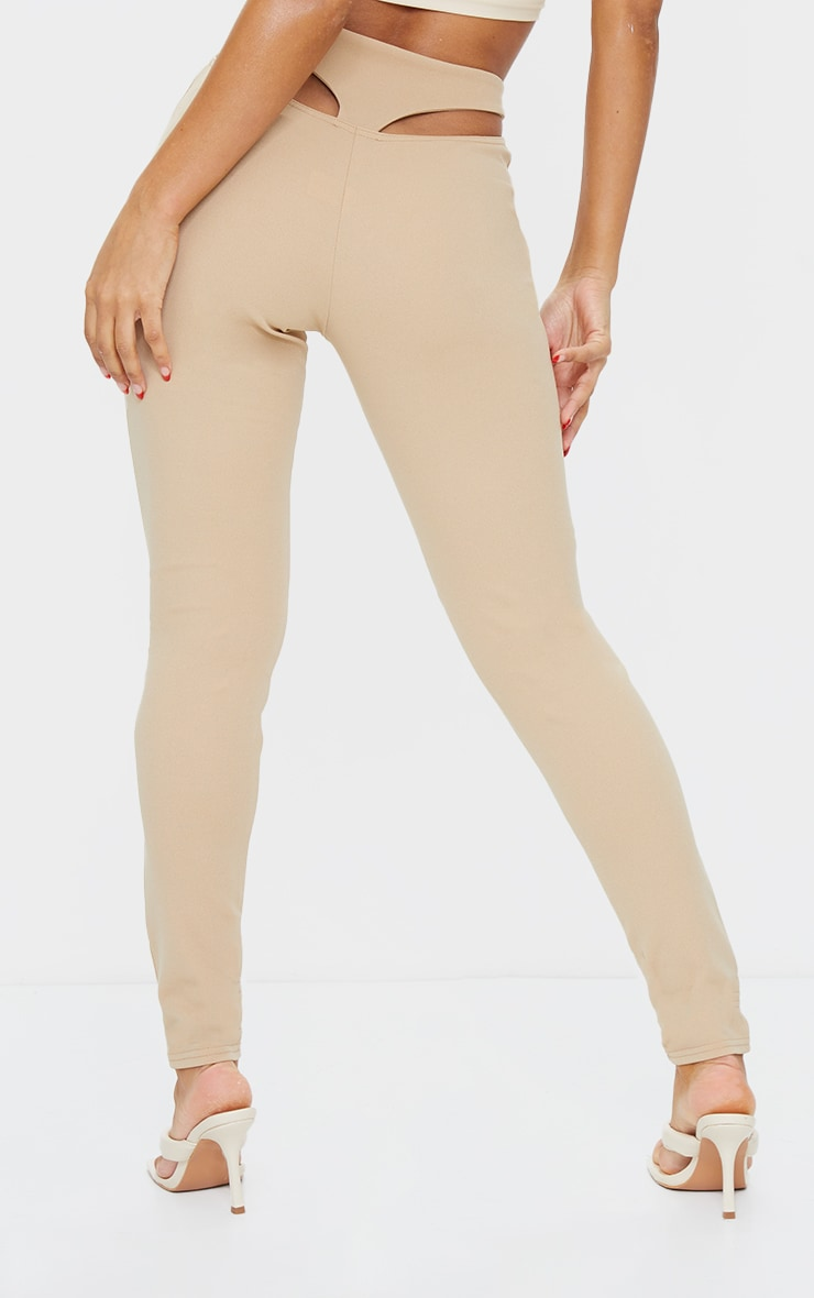Stone T Bar Skinny Pants 3