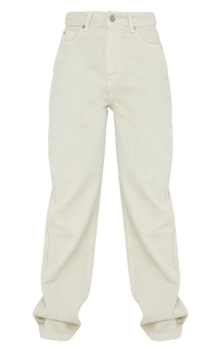 Stone Long Leg Straight Jeans 5