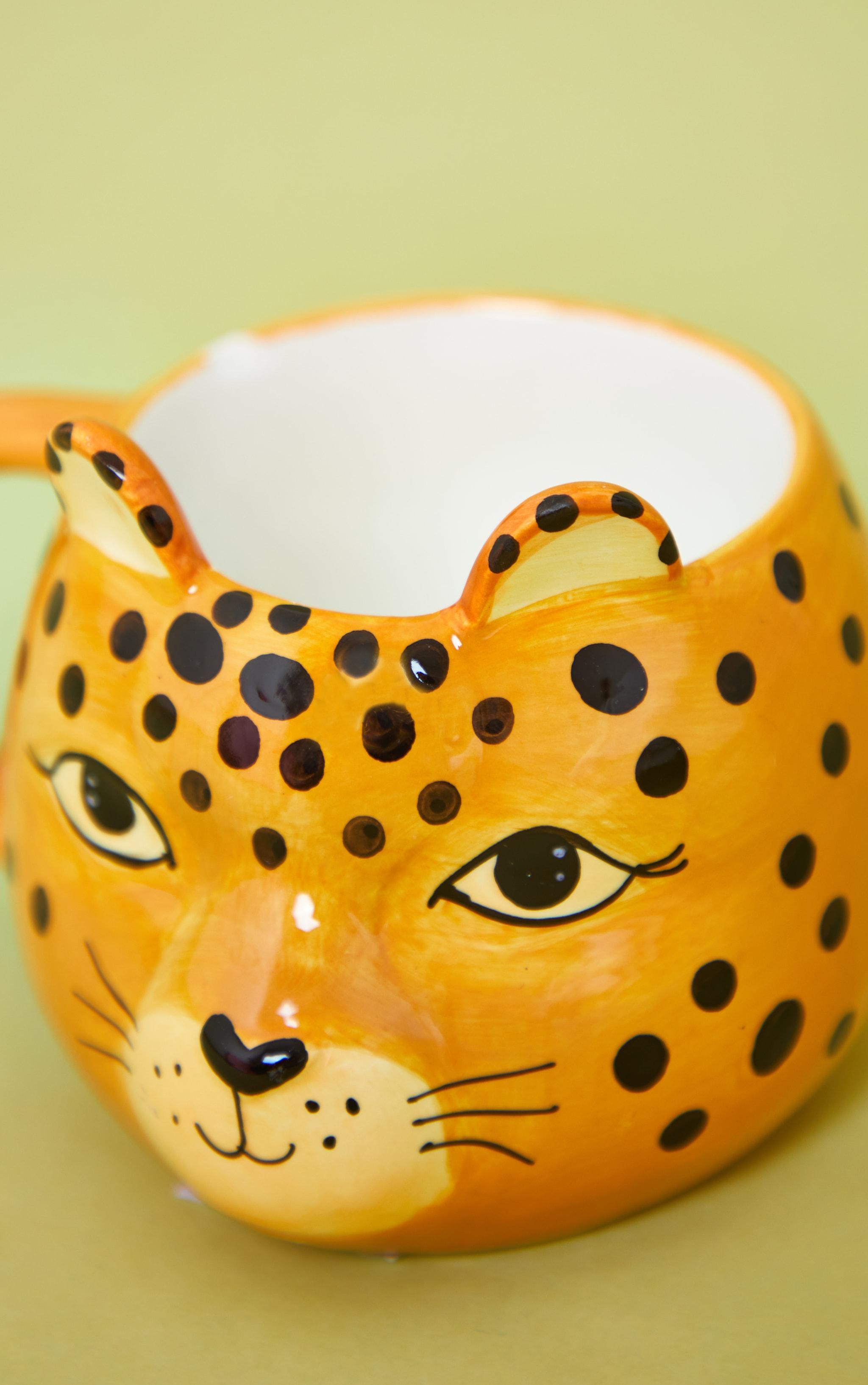 Leopard Love Shaped Mug 4