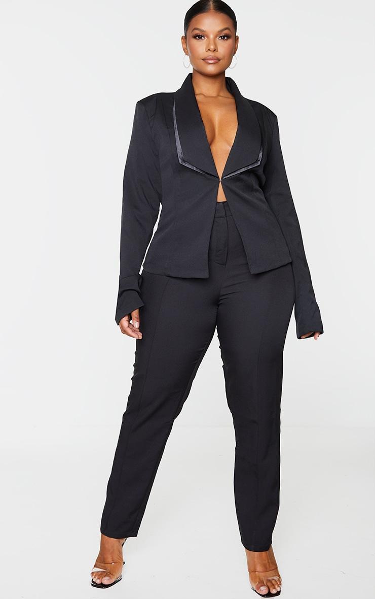 Plus Black Avani Suit Pants 1